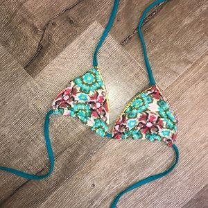 Free People x Beach Riot bikini top